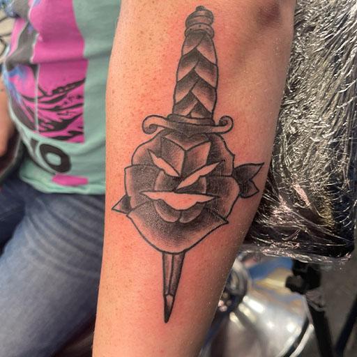 Logan Rogers Tattoo